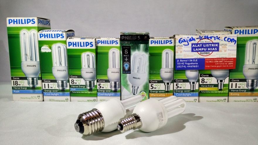 CFL PHILIPS GENIE 5W, 8W, 11W, 18W