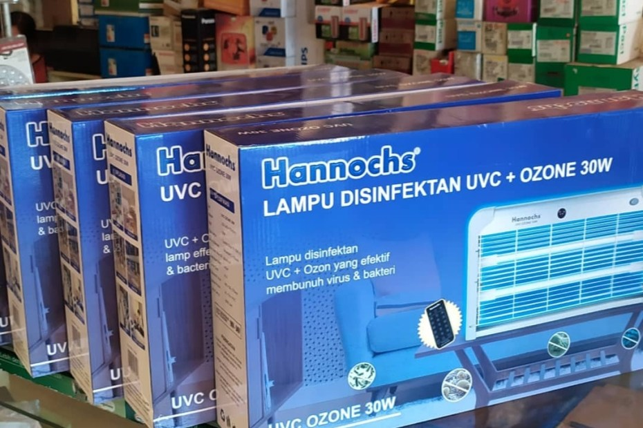 Lampu antibakteri antiviru Hannochs