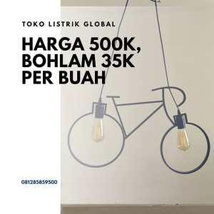Lampu gantung sepeda