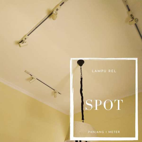 lampu spot rel tracklight 1 meter