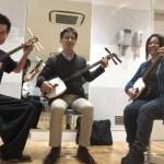 北海道から津軽三味線体験