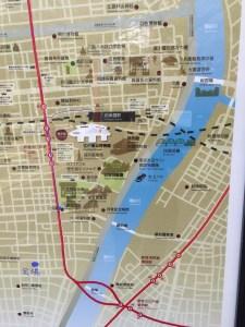 両国ロードmap横網交差点付近