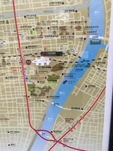 両国ロードmap両国ホテル第一付近
