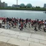 隅田川で和太鼓体験100名様。