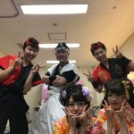 IECC日本語学校文化教室芸術鑑賞会 和太鼓&三味線演奏 ミニ和太鼓体験