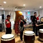 True Japan Toursオーストラリアから金曜午前にご夫婦で和太鼓体験