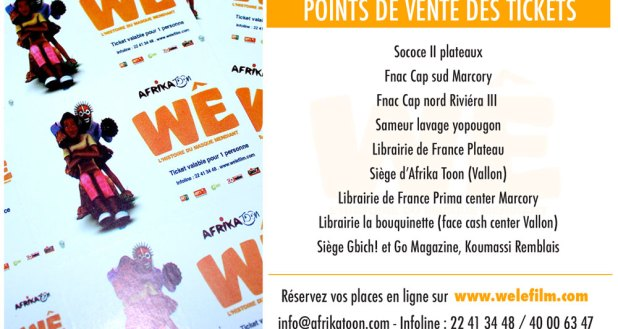Point de vente des tickets