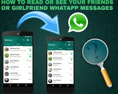 How To Read Lovers Whatsapp Messages From Your Phone without her knowing