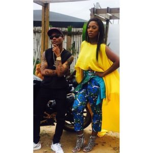 Chick out Video of Wizkid Kissing Tiwa Which is Getting People Talking