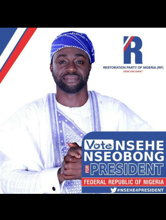 Restoration Party of Nigeria (RP) Picks Nsehe Nseobong as Presidential Candidate - VIDEO