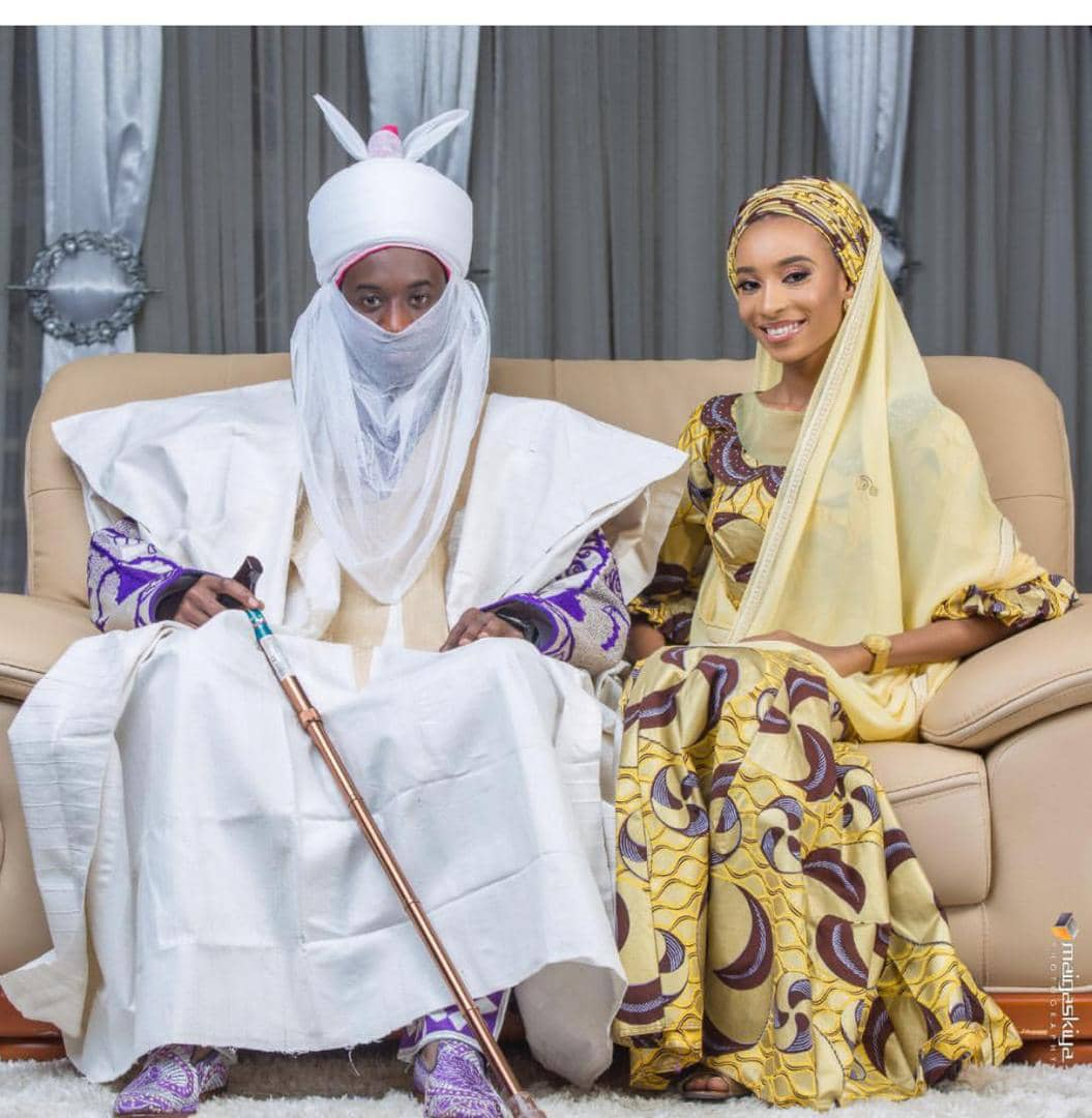 Pre-wedding Photos Of Emir Sanusi's Police Son Melts the Heart of Ladies
