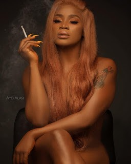 Nigerian Actress Uche Ogbodo Goes Completely Unclad in Viral Birthday Photos