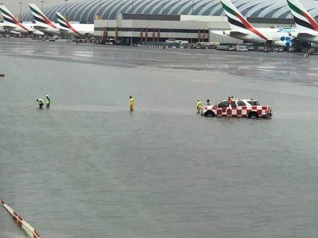 Dubai Airport Flooding