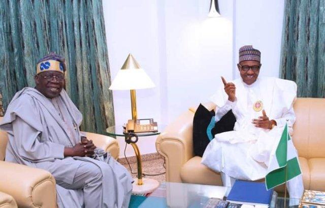 Tinubu Reacts After Meeting with President Muhammadu Buhari