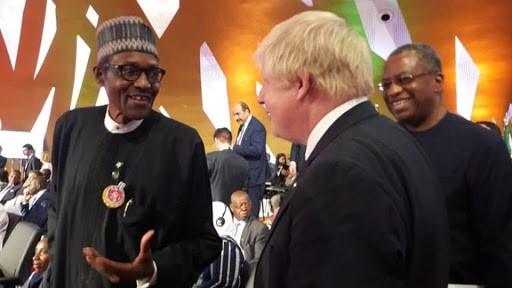 President Buhari meets UK PM Boris Johnson, seeks extradition of fugitives