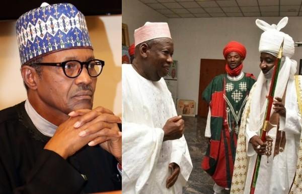 Buhari says Why he won't interfere in Ganduje and Sanusi's dispute