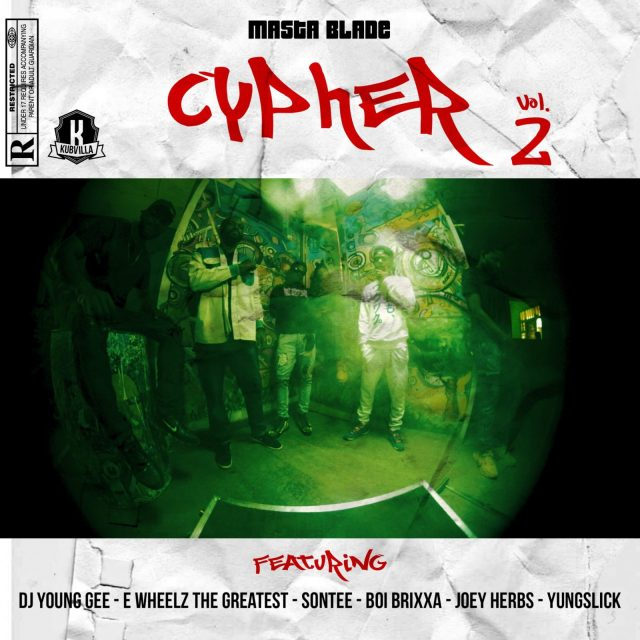 Masta Blade Cypher 2.0 featuring Abuja outstanding rappers Dj young Gee, Ewheelz the greatest, Sontee, Brixxa, Joey, Herbz and Yungslick.