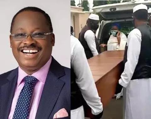 Photos of Former Oyo State Governor Abiola Ajimobi Burial in Ibadan