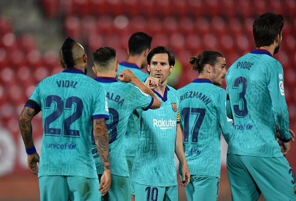Just in: Messi sets new La Liga record as Barca thrashed Mallorca 4-0