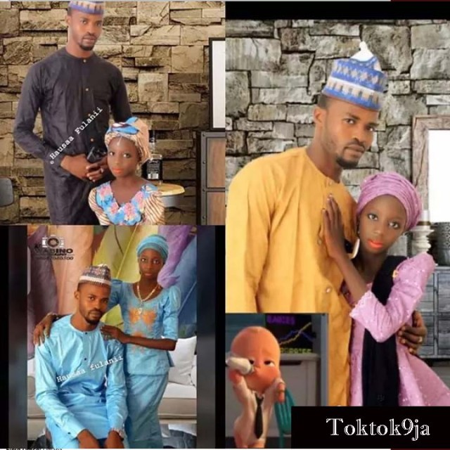 Pre-wedding Photos of a 30yrs Old Man and His 11yrs Old Bride Melts the Internet
