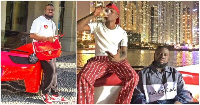 Seven 9ja Celebrities Who Hangout with Ray Hushpuppi During the Rainy Days