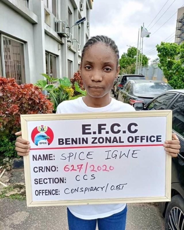 EFCC Arrests 22 years Old Boy