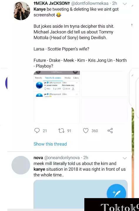 Kim Met With Meek