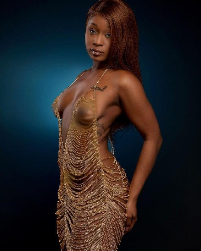 Ghanaian Actress Efia Odo
