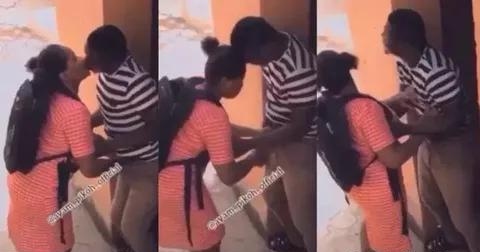 VIDEO: Male Teacher Caught on Camera Chopping His Female Student