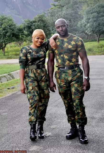 Pre-Wedding Photos of A Soldier