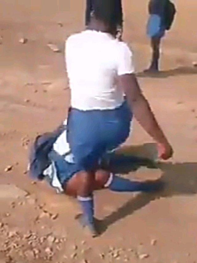 School Girl Beaten