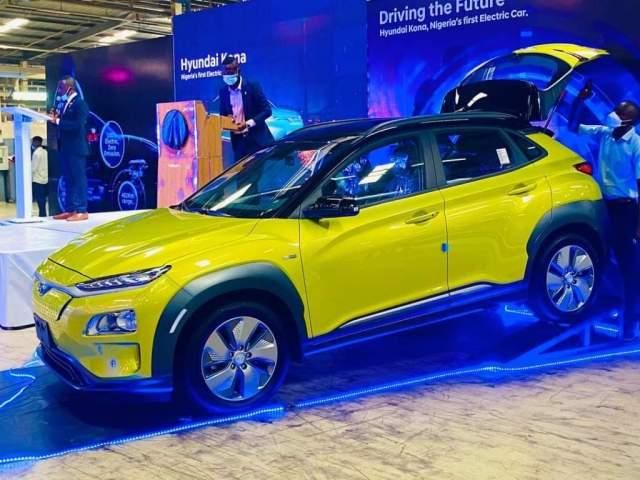 Made in Nigeria Electric Car