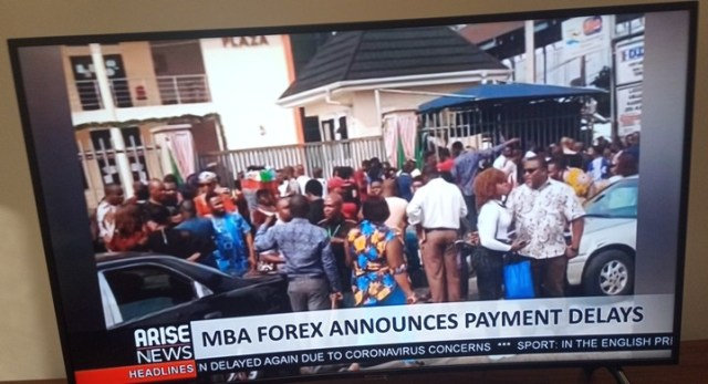 MBA Forex Unable To Pay Investors In December