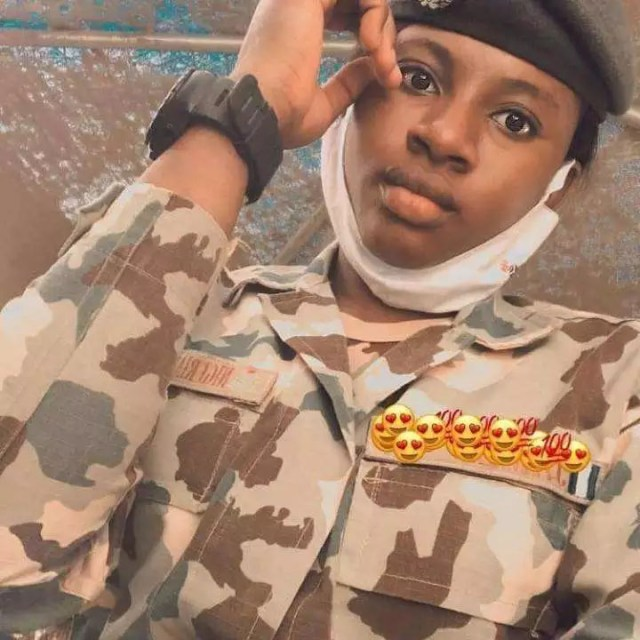 Photos of African Military Women