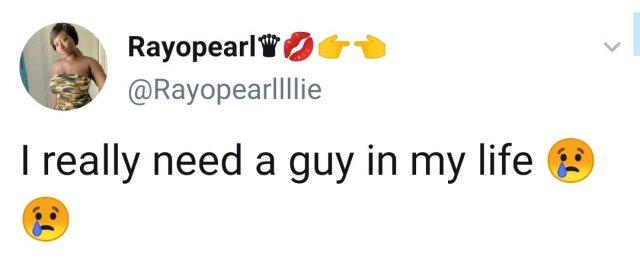 I Really Need A Guy