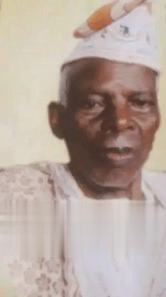Bishop Oyedepo's Father