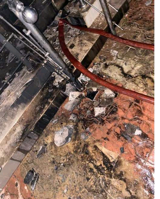 Two Things That Refused To Burn In Igboho's House Despite The Fire Incident