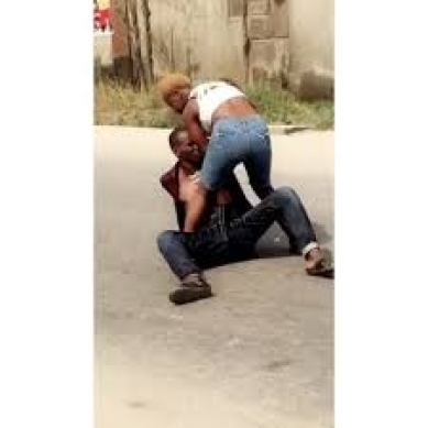 Ashawo Caught Beating