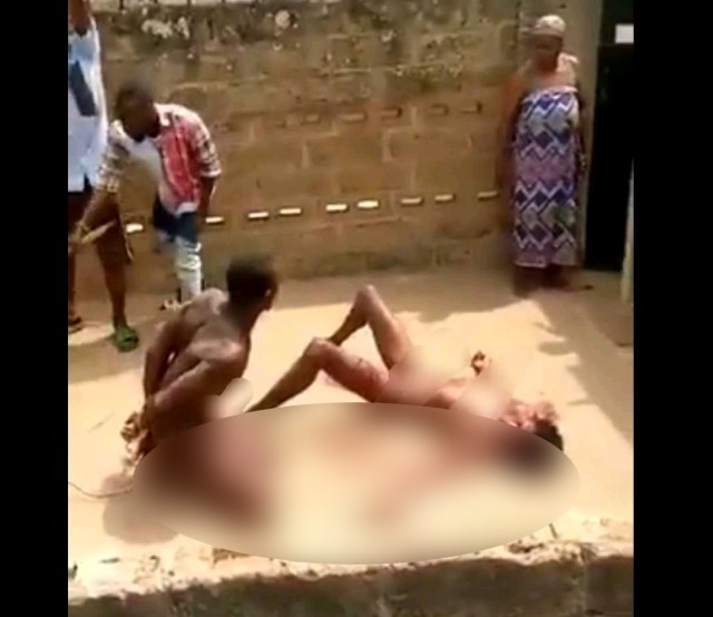 Wickedness! Man Caught After Raping and Attempting to Remove the Eyes of A Lady in Akure (VIDEO)