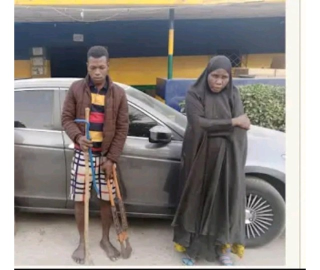 See The Hausa Woman Who Specializes In Stealing People's Car