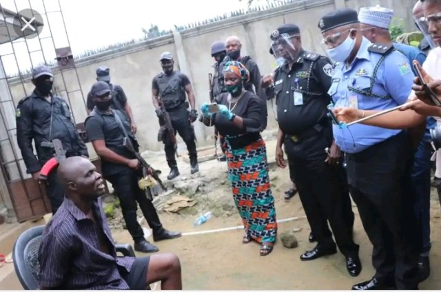 End-time Pastor Arrested For Killing and Burying His Member Inside Soakaway in His House (VIDEO)