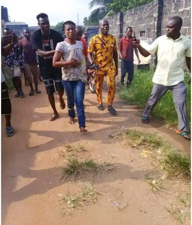 Lady Who Butchered Her Mother To Pieces In Akwa Ibom Has Been Sentenced To Death