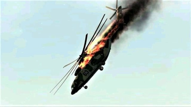 More Tension in the East As ESN Allegedly Shoots Down NAF Helicopter In Orlu Imo State