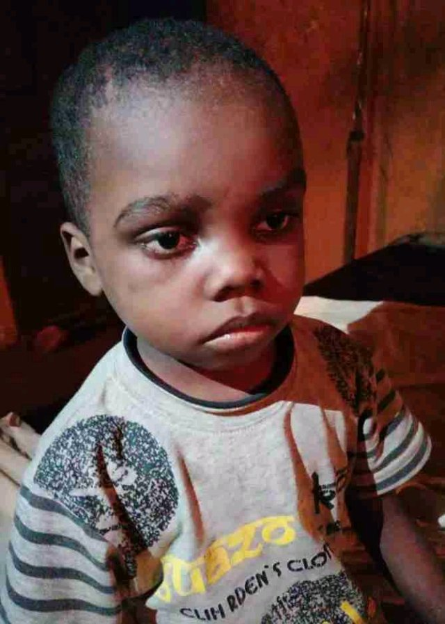 HORRIFIC!!! See The Faces Of Bloodied Children Rescued From The House Of The Ritualist Prophetess