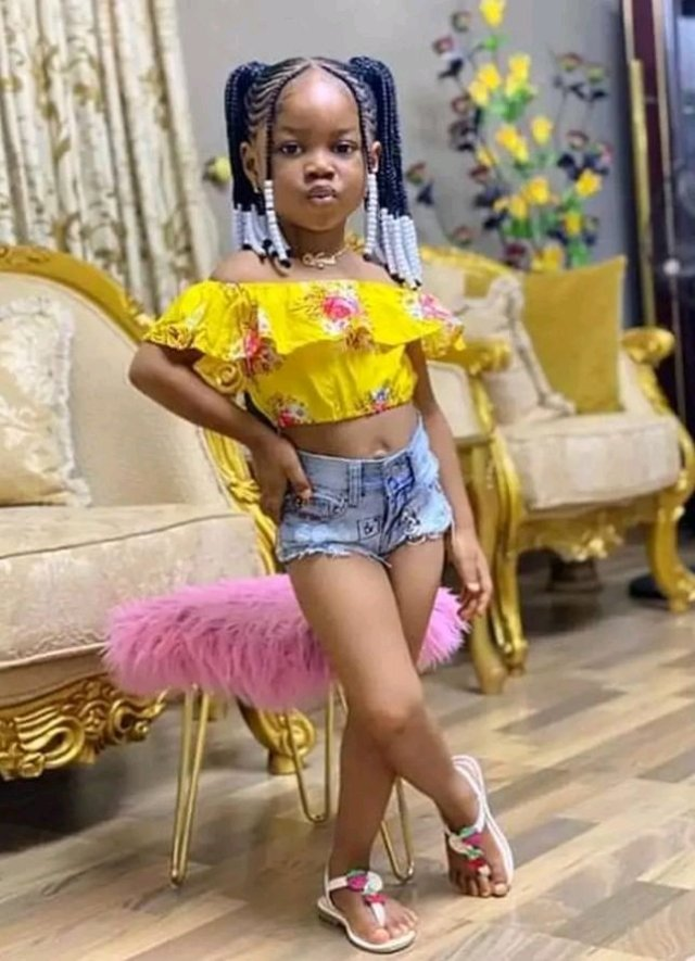 """""""Is This Right? """" See Photos Of A 4-Year-Old Girl That Got People Talking"""