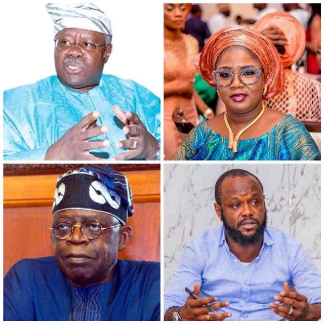 """Tinubu's Daughter Is Iyaloja While His Son Owns All Advert In Lagos""- Bode George Blasts Tinubu"
