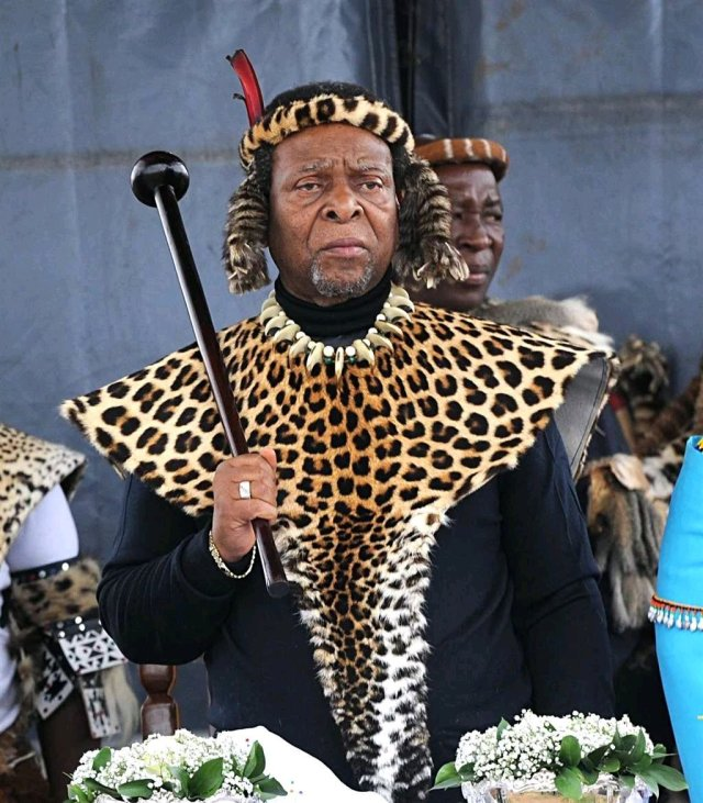 How South African Zulu King Who Allegedly Marries Young Virgin Girls Every Year Died of Diabetes
