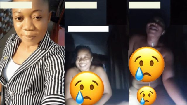 At0pa Video of A Ghanaian Lady Who Did N@k£d Video Call With Her Boyfriend Le@ks Online