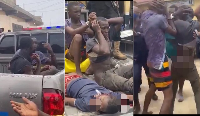 So Sad!!! See The 10-year-old Boy Killed by Two Teenage Boys For Money Rituals in Ghana (VIDEO)