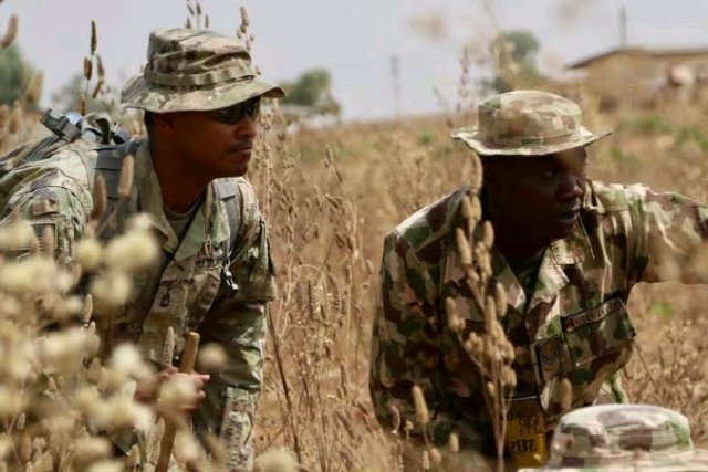 48 Hours After The Murder Of 3 Policemen, See What Nigerian Soldiers Did To 50 Gunmen